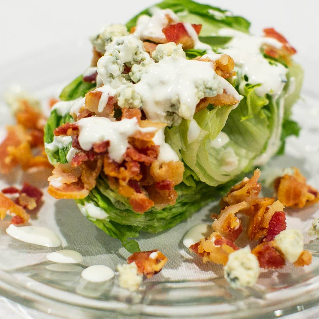 Iceberg Wedge Salad – Salad Option
